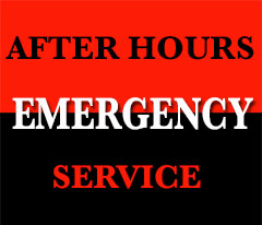 After hours emergency services